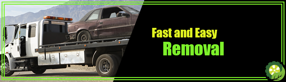 Fast and easy junk car removal