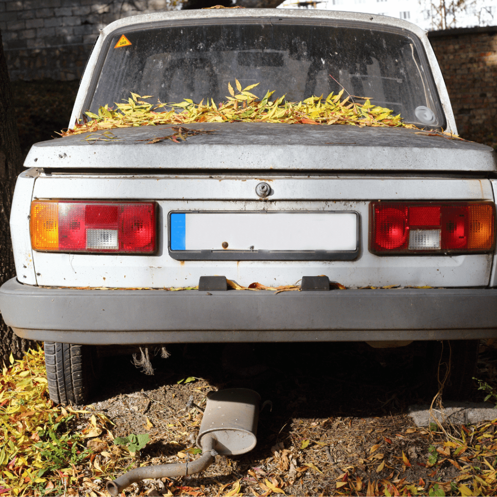 signs it is time to sell a junk car